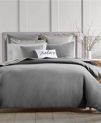 Charter Club Damask Designs Diamond Dot 300-Thread Count 3-Pc. King Comforter Set, Created for Macy's Bedding