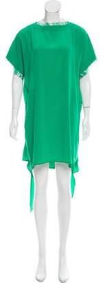 Michelle Mason Silk Mini Dress