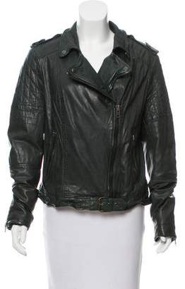 Muu Baa Muubaa Padded Leather Jacket