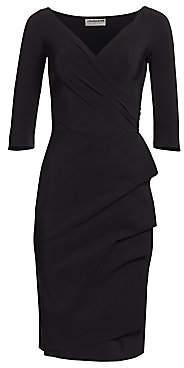 Chiara Boni Women's Florian Side Ruffle Dress