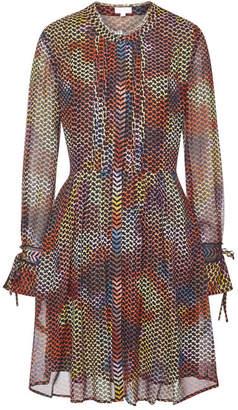 Lala Berlin Alison Printed Silk Dress