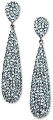 Nina Pave Elongated Drop Earrings