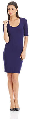 Diane von Furstenberg Jersey Scoop Neck Dress
