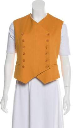 Hermes Cashmere Double-Breasted Vest