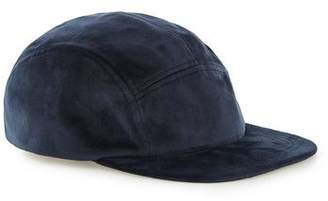 Topman Mens Navy Plush 5 Panel Cap