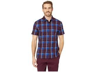 Perry Ellis Regular Fit Plaid Print Shirt