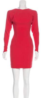 Victoria Beckham Paneled Mini Dress