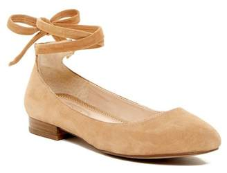 Franco Sarto Blake Suede Lace Flat $109 thestylecure.com