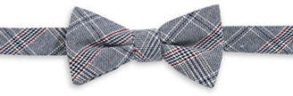 BOW TIE TUESDAYS Pre-Tied Woven Plaid Bow Tie