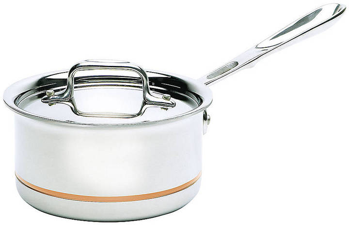 All-Clad Copper Core Collection Sauce Pan with Lid - 1.5 Quart