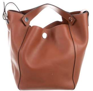 3.1 Phillip Lim Smooth Leather Bucket Bag