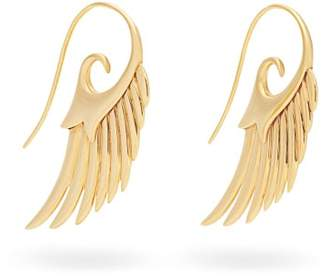 Noor Fares Fly Me To The Moon 18kt Gold Earrings - Womens - Gold