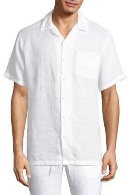 Onia Linen Vacation Shirt
