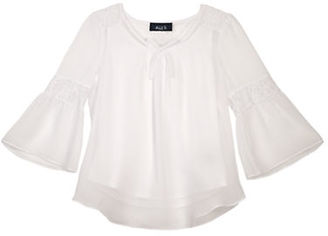 Ally B Girls 7-16 Bell-Sleeve Top $34 thestylecure.com