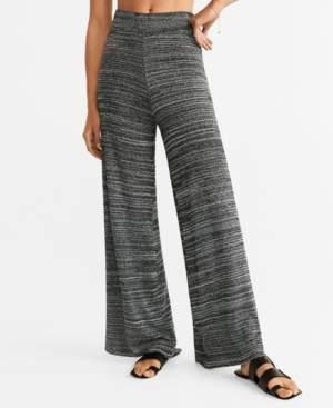 MANGO Flecked Trousers