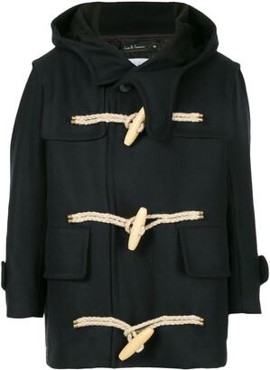 Kolor hooded duffle coat