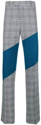Calvin Klein contrast tailored trousers