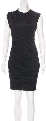Alexander Wang Alexander Wang Gathered Mesh Dress