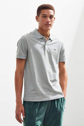 Lacoste Mini Stripe Pique Polo Shirt