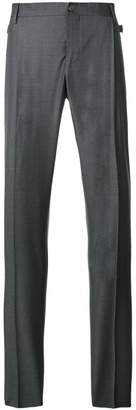 Versace medusa embellished tailored trousers