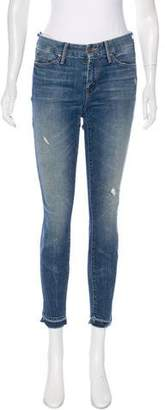 Mother Looker Ankle Mid-Rise Jeans