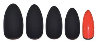 Static Nails Matte Caviar Pop-On Manicure Set