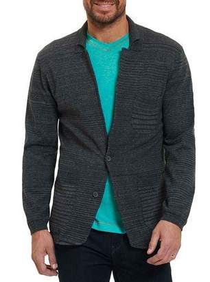 Robert Graham Shepard Knit Sport Coat, Dark Gray
