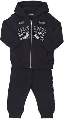 Diesel Printed Cotton Sweatshirt & Sweatpants