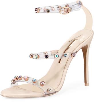 Sophia Webster Rosalind Gem Leather Sandal