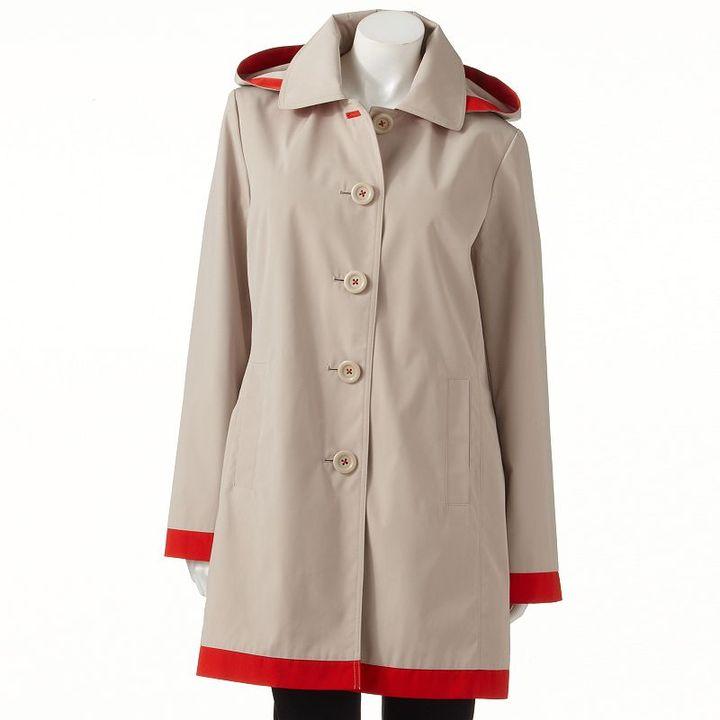 London Fog Towne by hooded walker coat