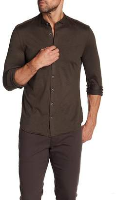 John Varvatos Collection Tip Collar Slim Fit Button Down Shirt
