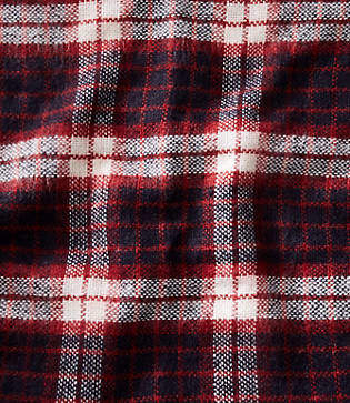 LOFT Brushed Plaid Infinity Scarf