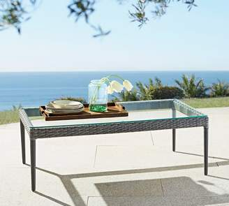 Pottery Barn Cammeray All-Weather Wicker Coffee Table