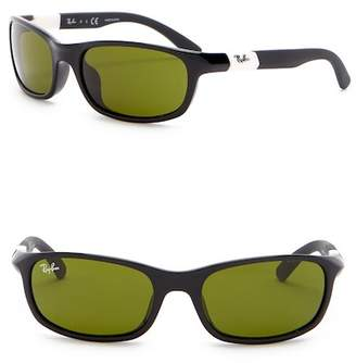 Ray-Ban 50mm Wrap Sunglasses (Little Kids)
