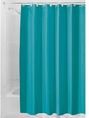 InterDesign Mildew-Free Water-Repellent Fabric Shower Curtain