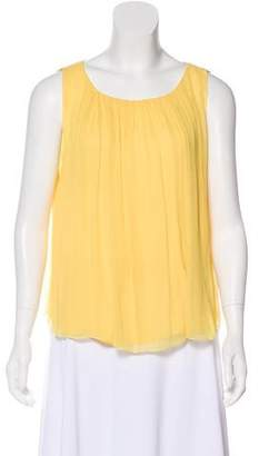 Alice + Olivia Silk Sleeveless Top