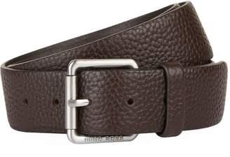 BOSS ORANGE Grained Leather Belt
