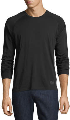 Ermenegildo Zegna Techmerino Techmerino Jersey Long-Sleeve T-Shirt