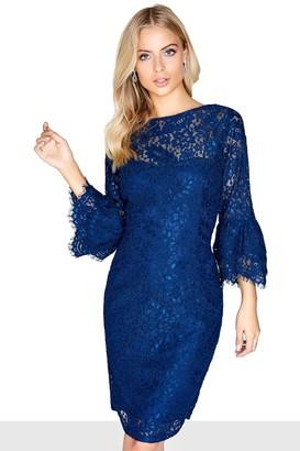7a323dfe1a3e7 Navy Lace Dress - ShopStyle Australia