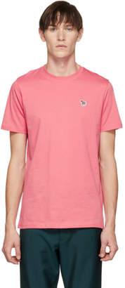 Paul Smith Pink Zebra Logo T-Shirt