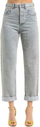 Gucci 17cm Marble Stone Bleached Denim Jeans