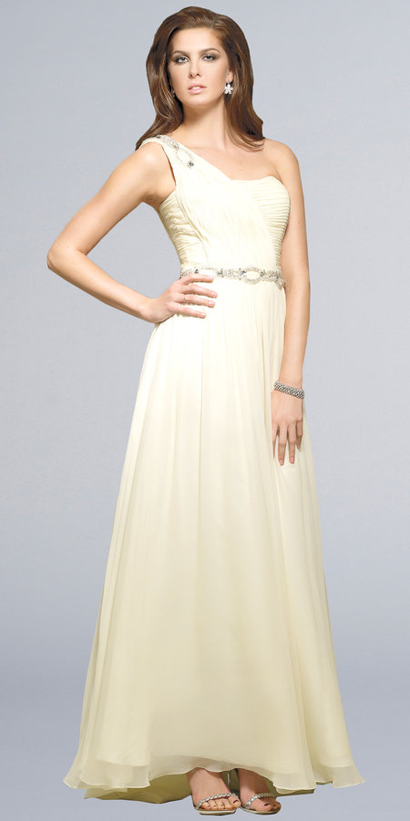 Flowing Embellished Dresses by Terani Couture
