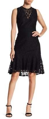Nanette Lepore NANETTE Lace Hi-Lo Dress