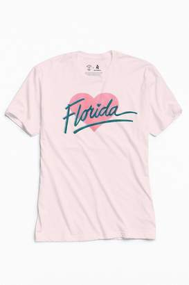 Urban Outfitters Community Cares + Hurricane Relief Florida Heart Tee