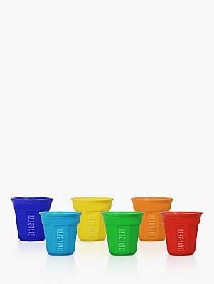 Bialetti Espresso Cups, Set of 6, Multi