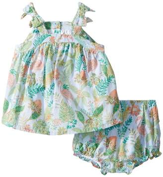 Janie and Jack Bow Sleeve Two-Piece Play Set Girl's Active Sets