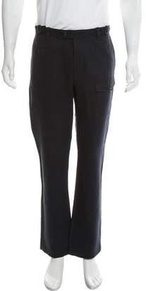 John Varvatos Linen-Blend Cargo Pants