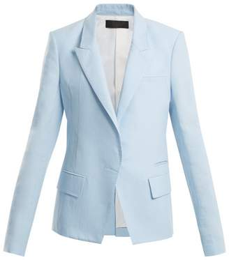 Haider Ackermann Peak-lapel cotton-blend blazer