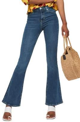 Topshop Jamie Flare Jeans