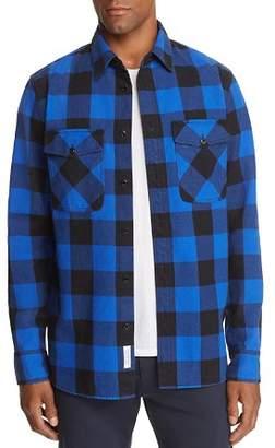 Rag & Bone Principle Plaid Denim Shirt Jacket - 100% Exclusive